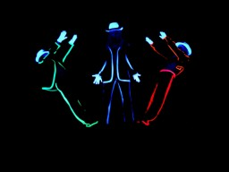 Black light theatre HILT disco1
